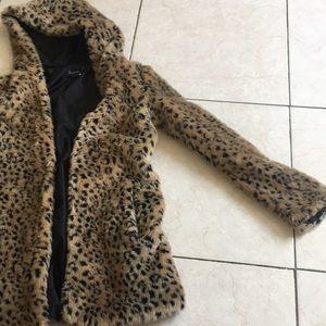 Cheetah print Forever 21 Jacket